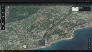Beautiful View of  the Sea and Mountains Lot For Sale P300+ per sqm only, Bacnotan, La Union