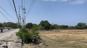 Lot along National Highway, Baroro, Bacnotan, La Union