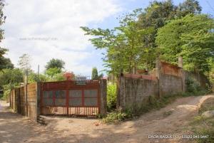 Fully-Fenced Elevated Lot Near Town Proper, Naguilian, La Union